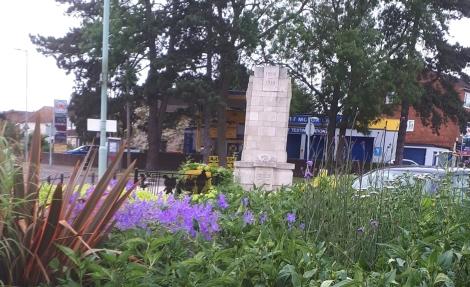 Flowers of Goffs Oak in full bloom June 2017 - 2