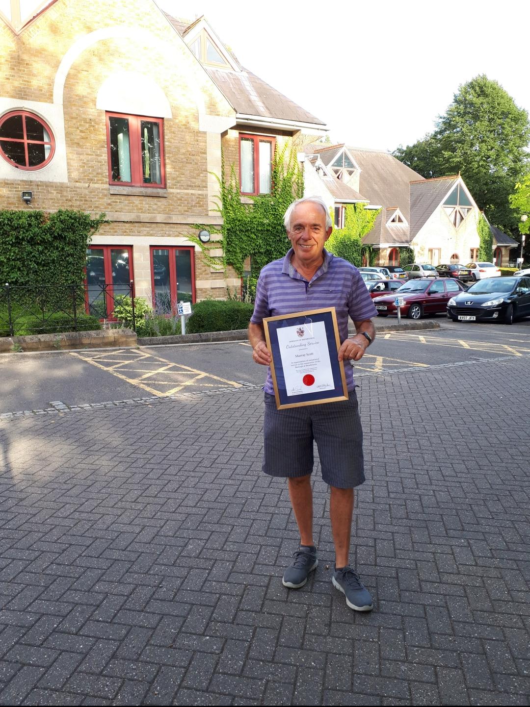 Murray Scott Outstanding service Award
